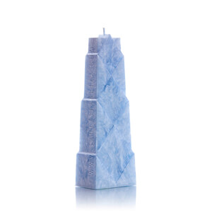 Stearinkerzen: Rhombus Light Blue
