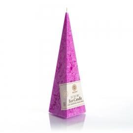 Pyramidenkerze. Fuchsia