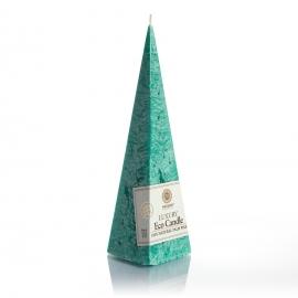 Pyramidenkerze. Grün