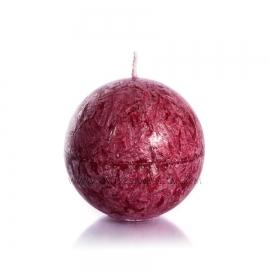 Sphere. Burgundy