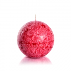 Sphere. Red