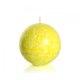 Sphere. Yellow