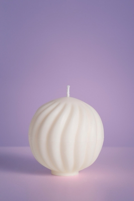 Molded soy wax candles No.2