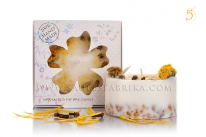 Packed soy wax candles No.5