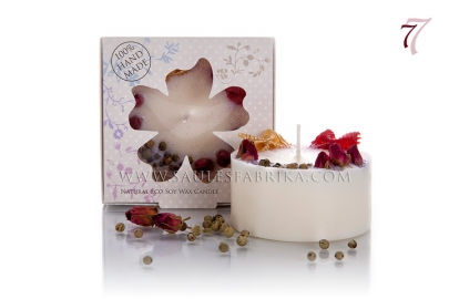 Packed soy wax candles No.7