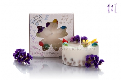 Packed soy wax candles No.11