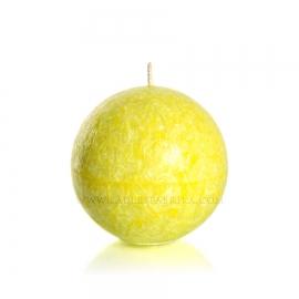 Sphère. Jaune