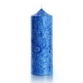 Колонна 195. Цвет синий