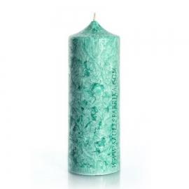 Колонна 195. Цвет зеленый