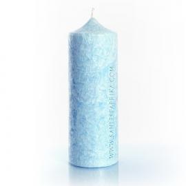 Колонна 195. Цвет голубой