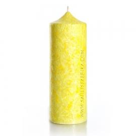 Колонна 195. Цвет желтый